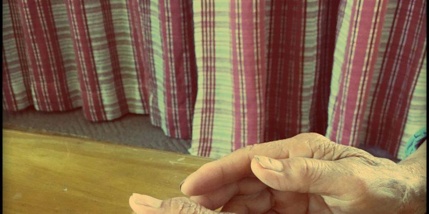 おばあちゃんとお話